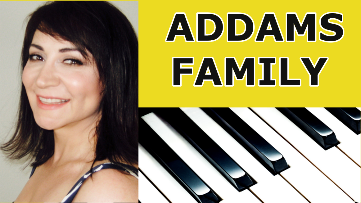The Addams Family Theme Song (Cover) – Easy Piano Tutorial