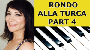 Rondo Alla Turca Part 4 Piano Tutorial