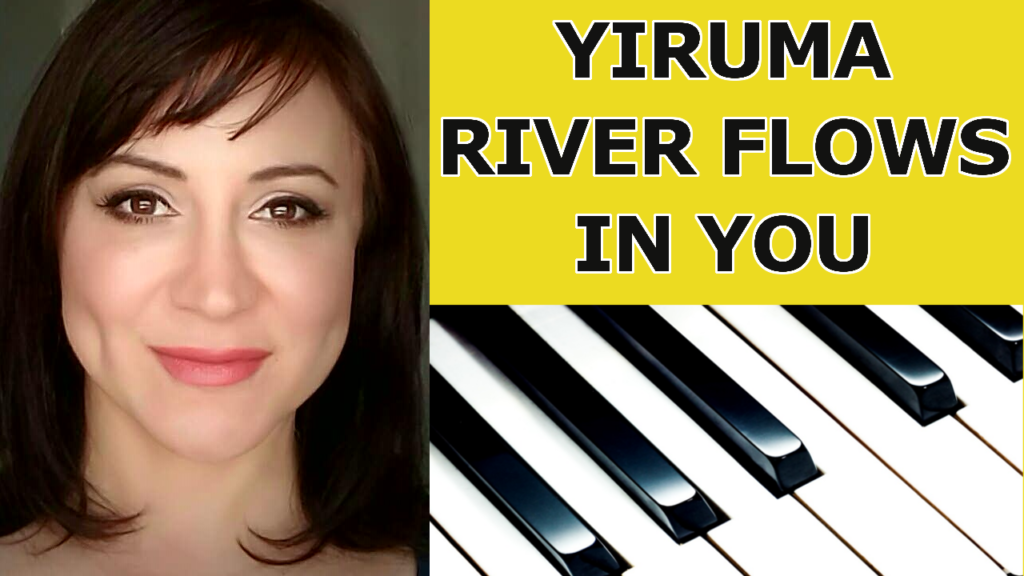 Yiruma 이루마 River Flows In You The Piano Keys